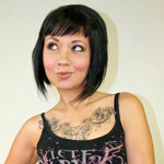Coco velvett.  Tattooed Californian Coco is such a slender cutie!