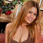 Charmane star.  Nothing makes Filipino model Charmane Star wetter than sitting beneath her man\'s balls and shaving them clean for him!